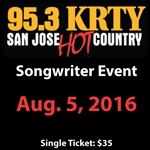 KRTY - Aug. 5th Songwriters Show