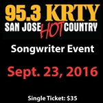 KRTY - Sept. 23rd Songwriters Show
