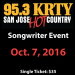 KRTY - Oct. 7th Songwriters Show